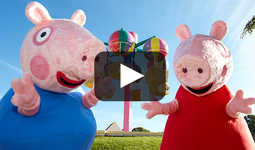 Peppa Pig and Paultons Park Short Break video