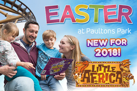 Easter Breaks 2018 at Paultons Park and Peppa Pig World