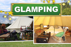 Glamping near the New Forest
