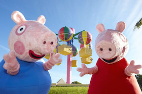 February half term at Peppa Pig World!