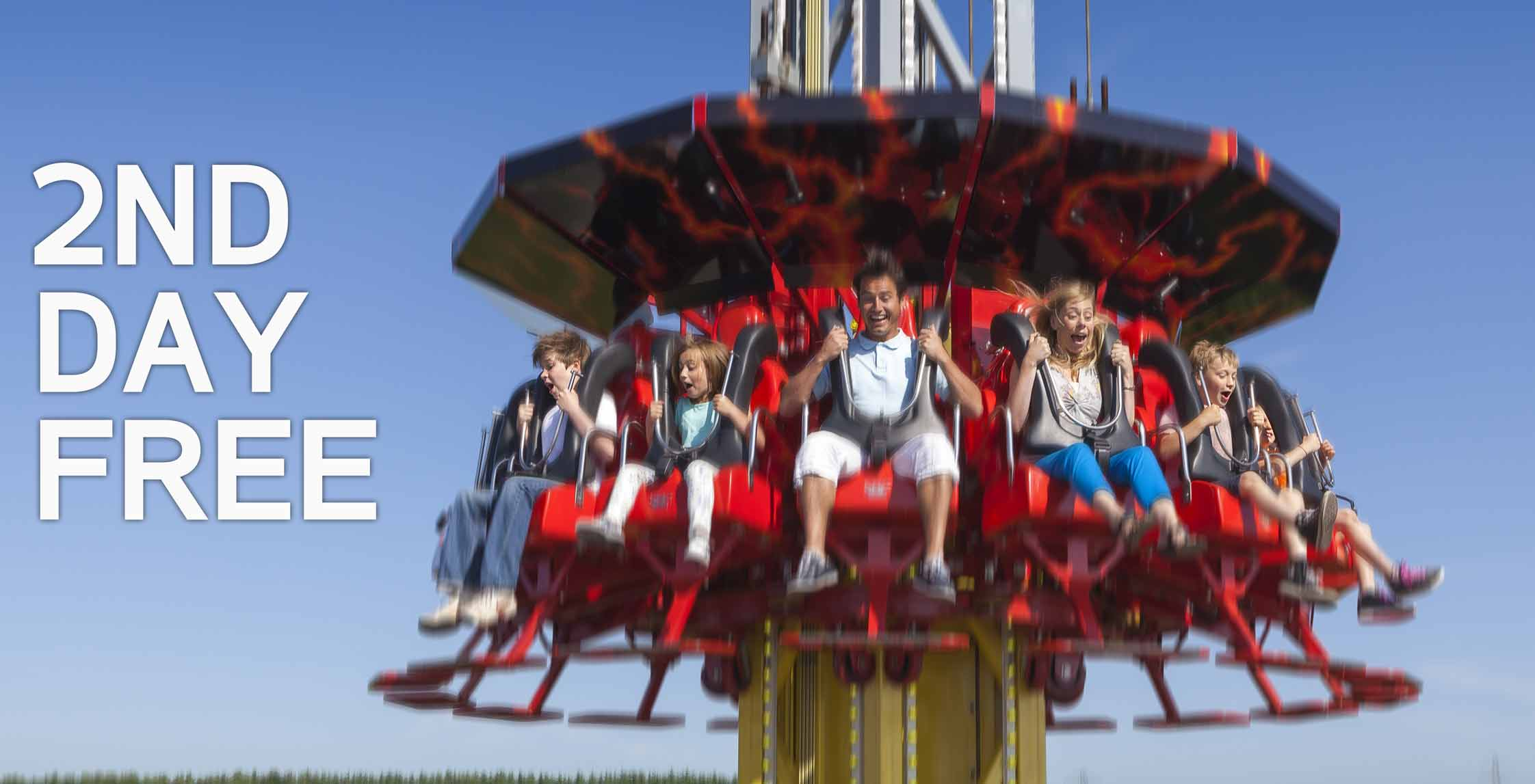2 Days for 1 at Paultons Park