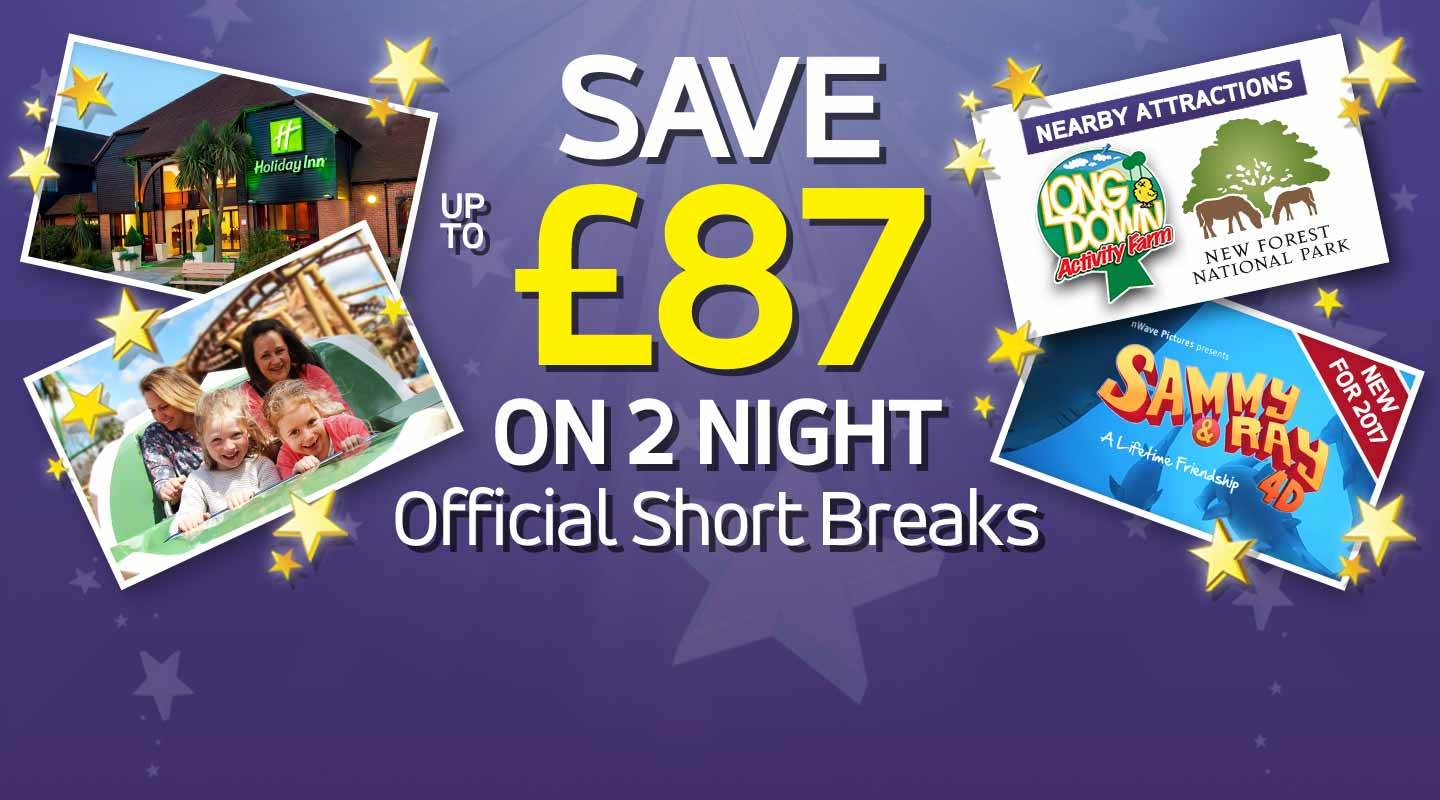 2 Night Hotel Offer at Paultons Park