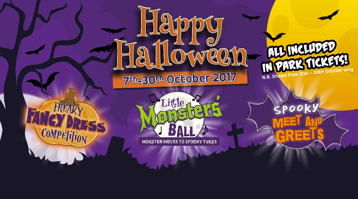 Halloween 2017 at Paultons Park and Peppa Pig World