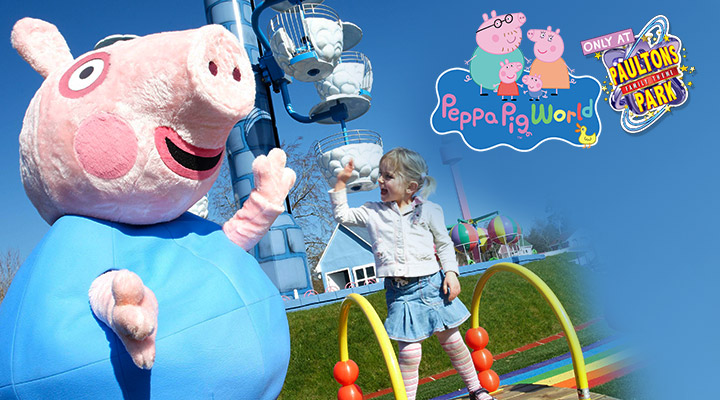 Paultons Park home of Peppa Pig World