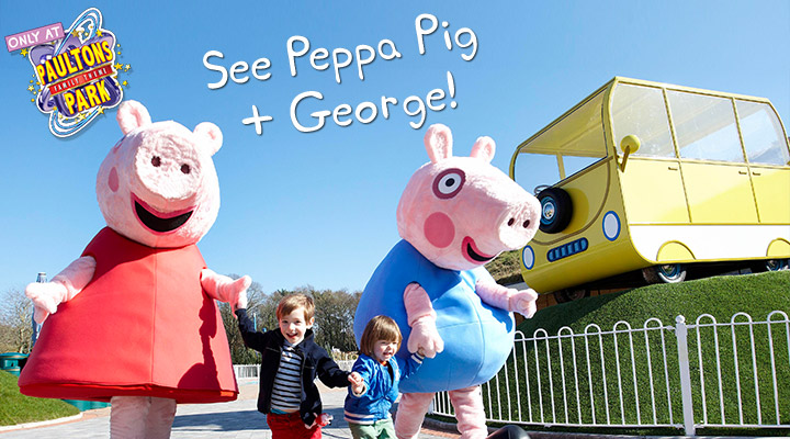 Meet Peppa Pig at Paultons Park
