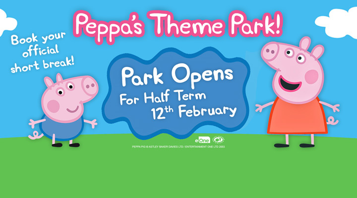 Join Peppa Pig this February half term