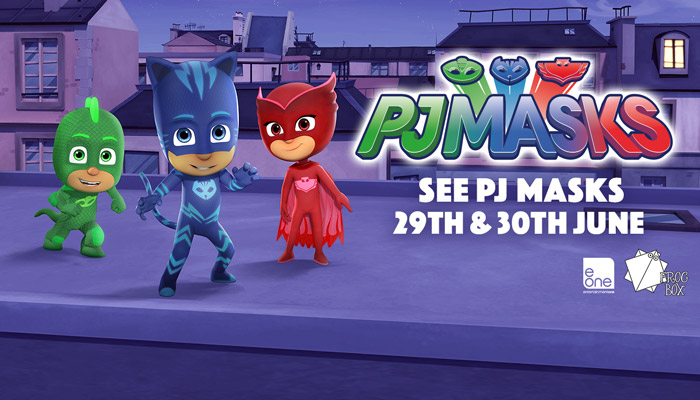 See PJ Masks at Paultons Park!