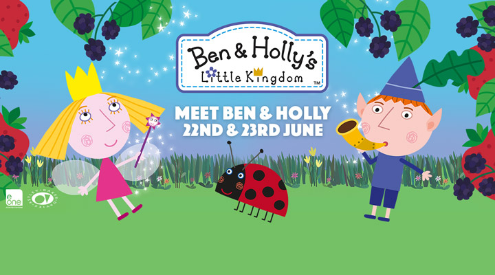 Meet Ben & Holly at Paultons Park
