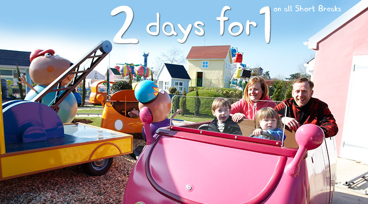 2nd Day FREE at Peppa Pig World