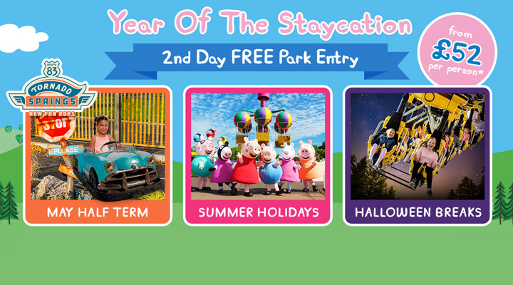 2021 Staycations at Peppa Pig World