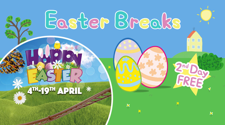Easter breaks at Paultons Park and Peppa Pig World!