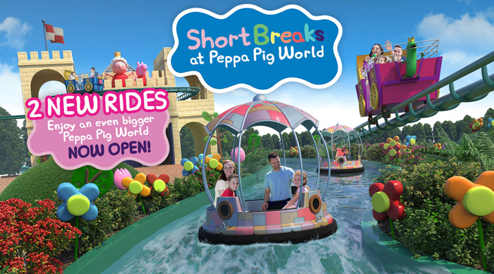 New Peppa Pig World Rides