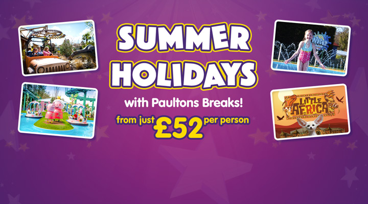 Summer Holidays at Paultons Park