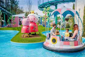 New Peppa Pig Rides now open